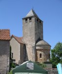 Tower and apse
